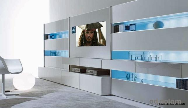 Hifi project wohndesign - Medienwand tv ...